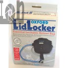OXford Lid Locker Helmet Storage Bag for Motorcycle Scooter Locks and Chains