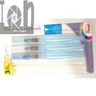 Pentel Arts Aquash Brush Pack of 3 FRHBFMBP3 Water Brushes