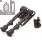 Picatinny Folding Bipod 6-9'' Hunting Tactical with Sling Mount Swivel 20mm Adapter