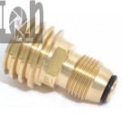 Propane Tank Adapter LP Tank POL type Valve to QCC Type 1 Brass Adapter