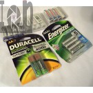 Rechargeable Batteries Lot AA AAA Energizer Duracell Tenergy MIXED