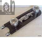 """Replacement Gas Grill Burner Dual Side Burner 14"""" Propane Parts"""