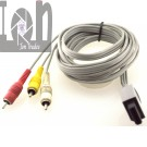 RVL-009 OEM Nintendo Wii AV Cords TV Cable RCA