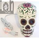 Scentsy Electric Wax Warmer Calavera Rose Skull Premium Warmer