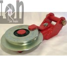 Self Releasing Snatch Block Logging Forestry Equipment Pulley