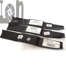 "Simplicity 48"" Lawnmower Blades 1679916 3-Piece Set Mower Parts"