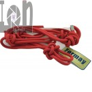 Solid Red Rope Halter Formay 94058 Equine Horse Tack