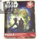 Star Wars 100 piece Jigsaw puzzle  Classic Chewy Vader R2 and C3PO