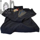 The North Face 100 1/2 Cosmic Blue Mens SMALL Fleece Zip Sweater
