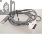 USB Controller Cable FOR Xbox 360 White Replacement Charger Cord