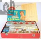 Vintage 1954 Erector Set 10201 The Rocket Launcher Set Steel Kit