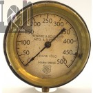 Vintage Ashcroft Pressure Gauge Hendrie & Bolthoff Mining Tools