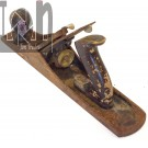 Vintage Stanley No 5 Plane Smooth Bottom Antique Woodworking Tools