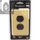 Weybridge Natural Stone Switch Plate Single Duplex Outlet Wall Panel USA MADE