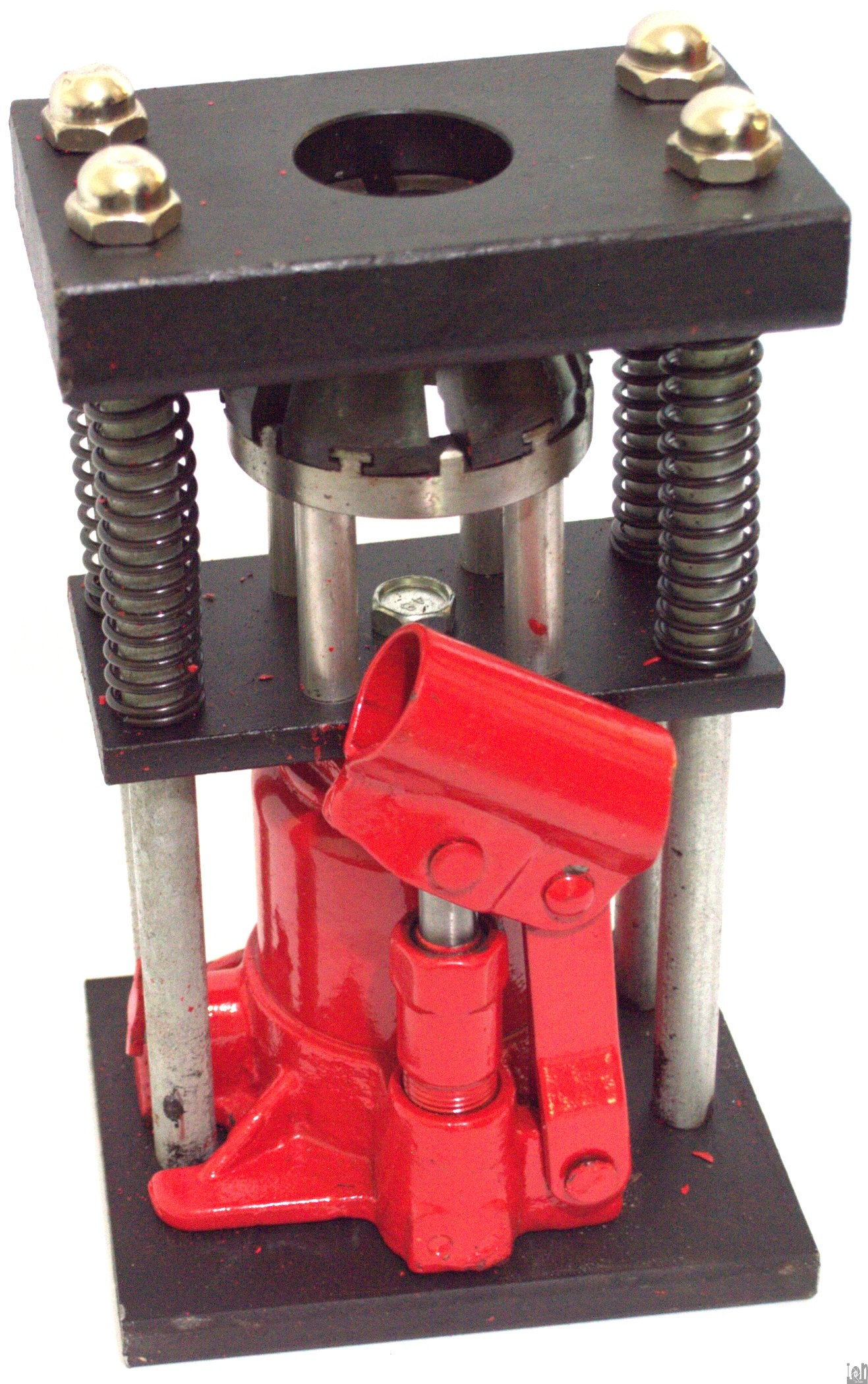 hydraulic hose crimper 6 ton bottle jack press