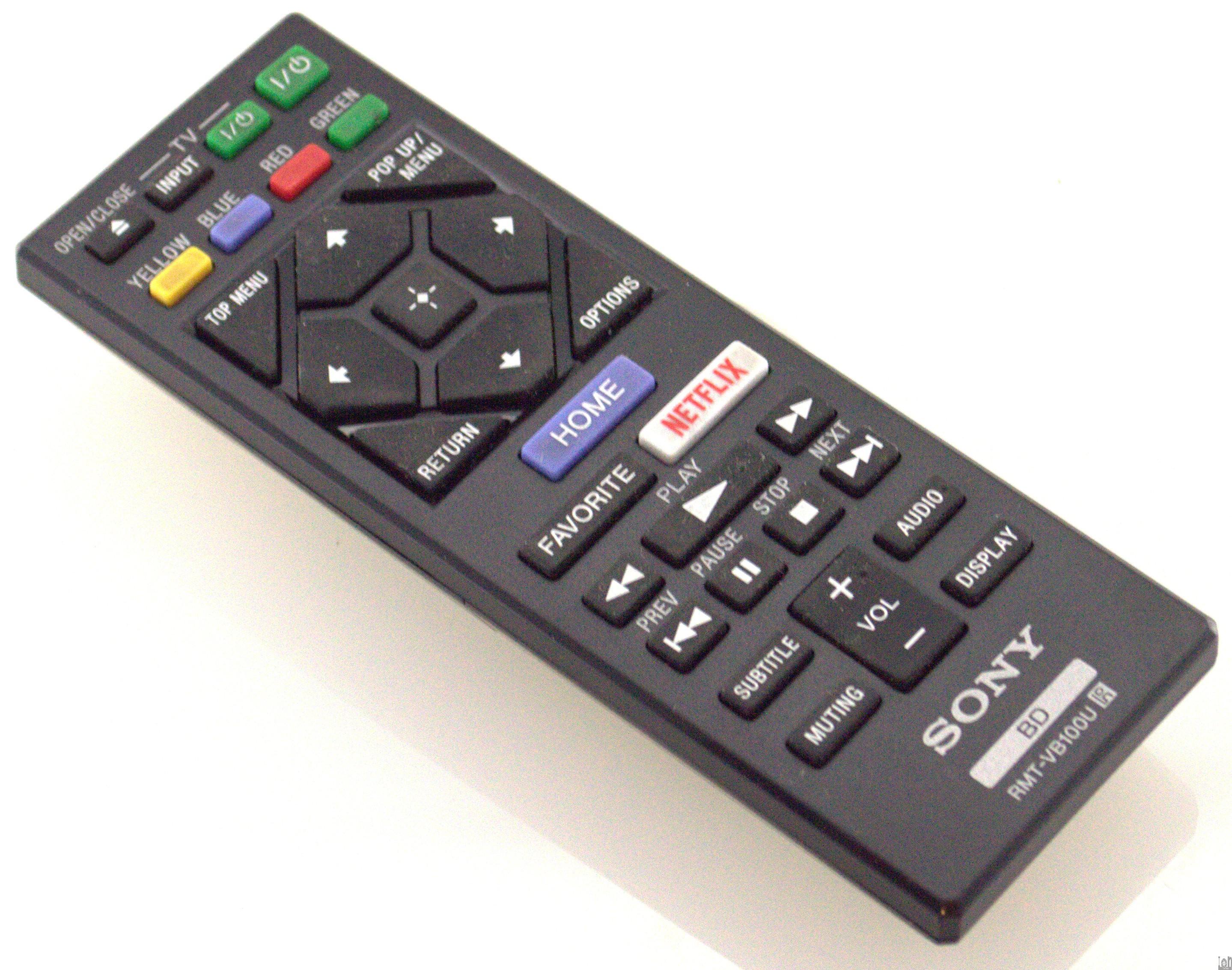 RMT-VB100U Sony Remote Control Blu Ray Player