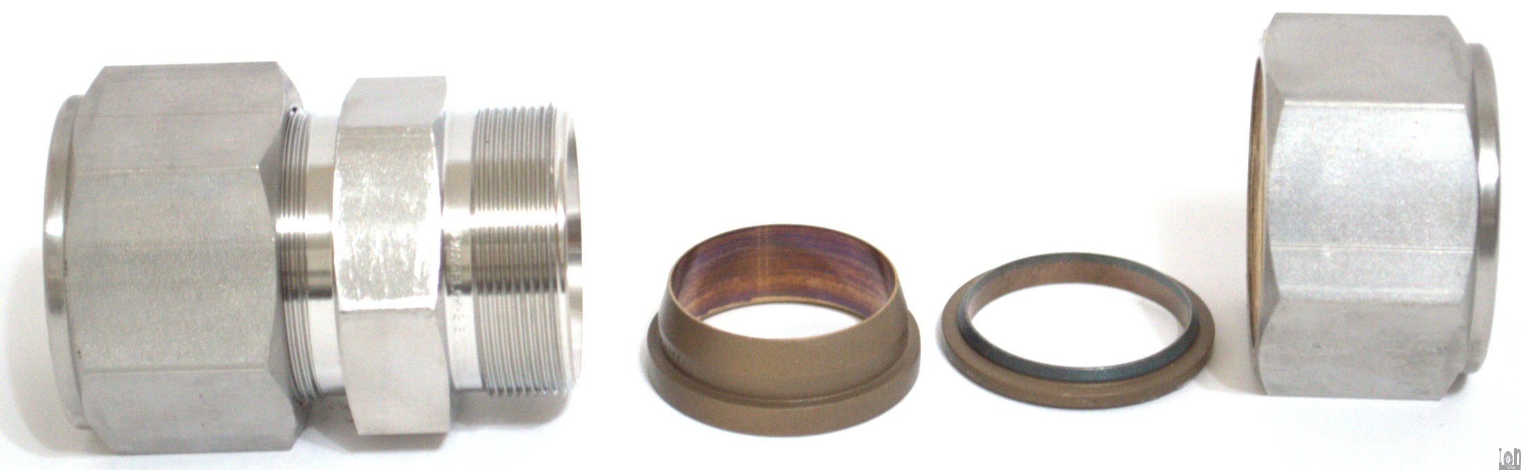 Swagelok quot reducing union stainless steel fitting