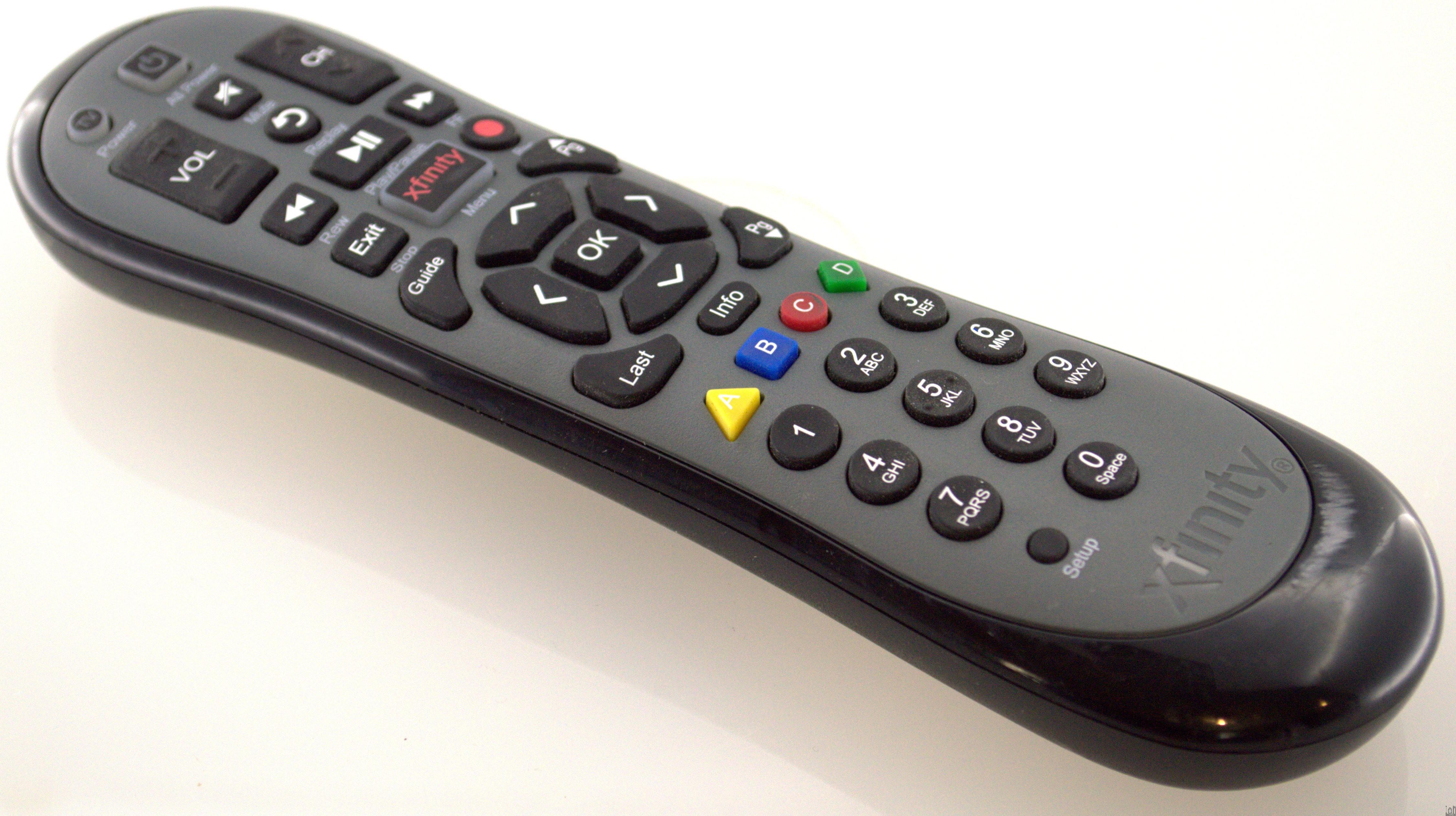 URC-4268BC0-XXXX-R Xfinity Remote Control XR2 U2 HDTV DVR